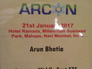 ARCON 2017